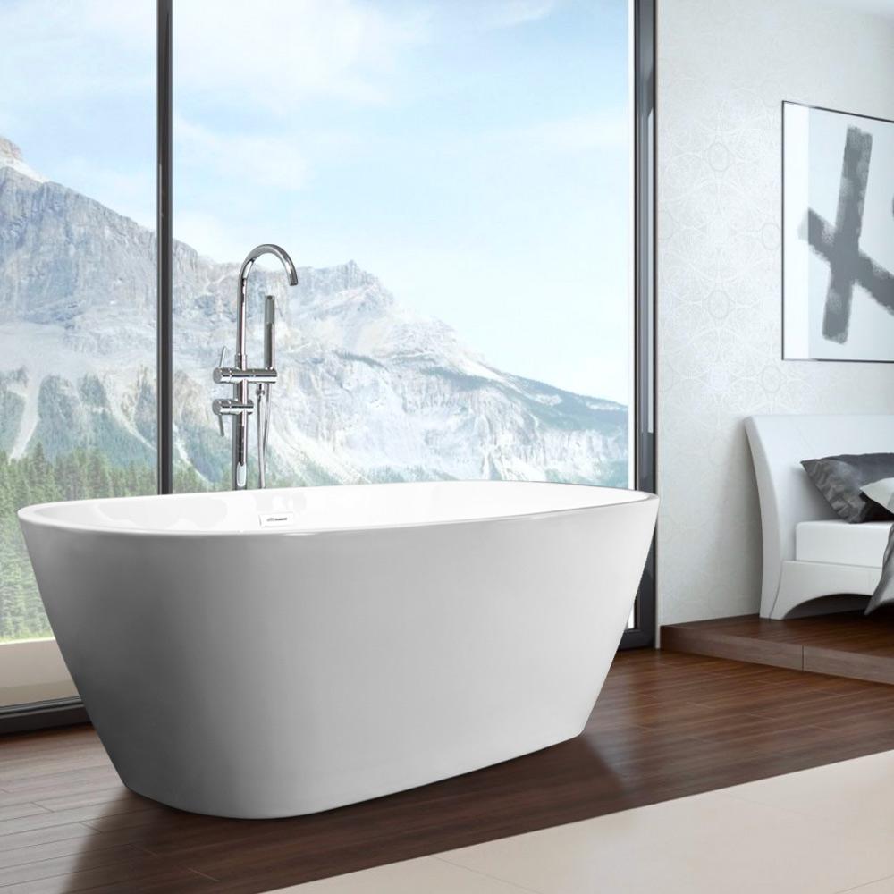 Vrijstaande Ovale Badkuip van Modern Design Idra