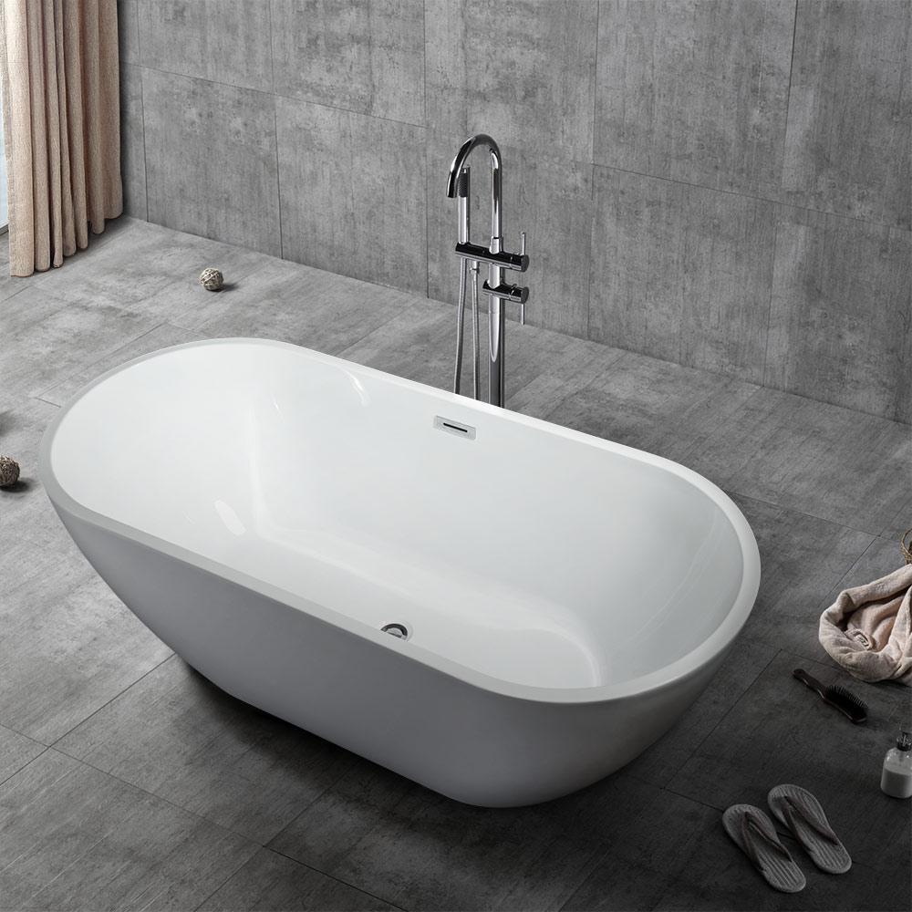Design Ovale Badkuip voor Onafhankelijke Installatie en Vrijstaand Ontwerp Coo
