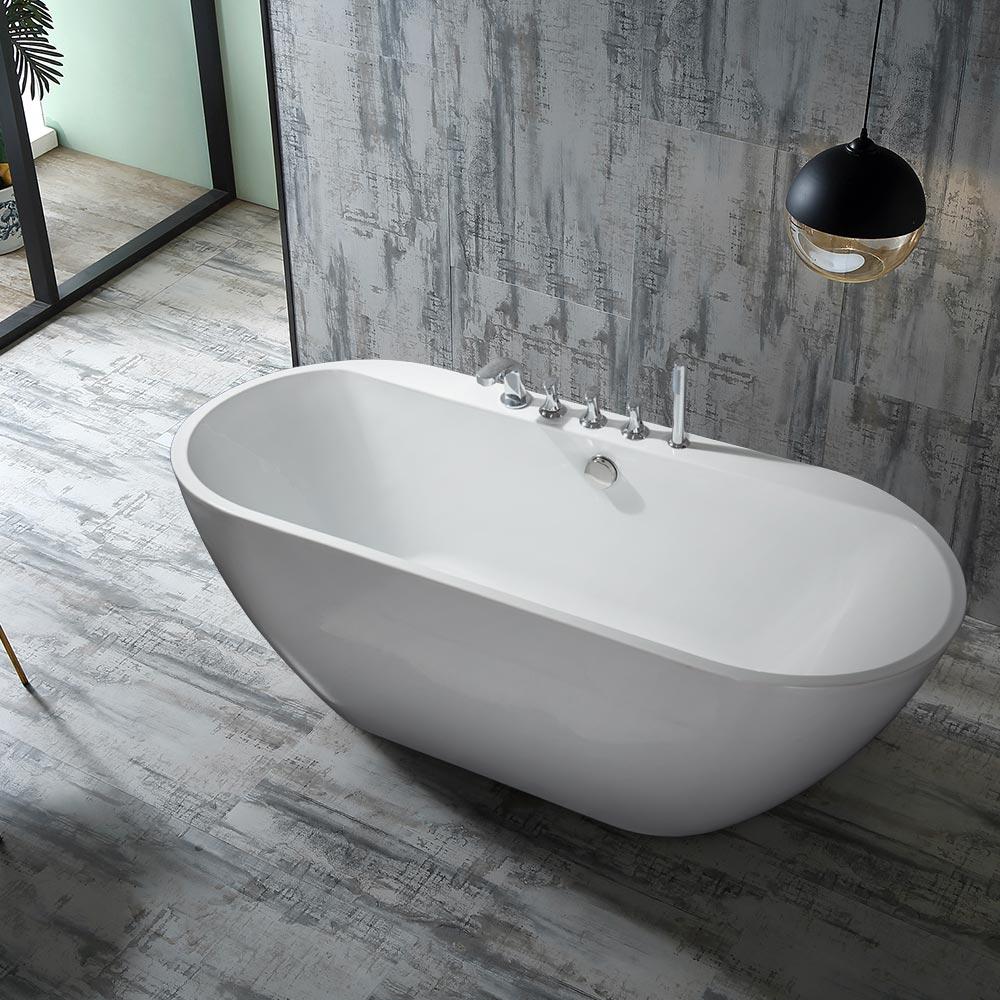 Design Ovale Badkuip Vrijstaand Luxe Model Kalimnos
