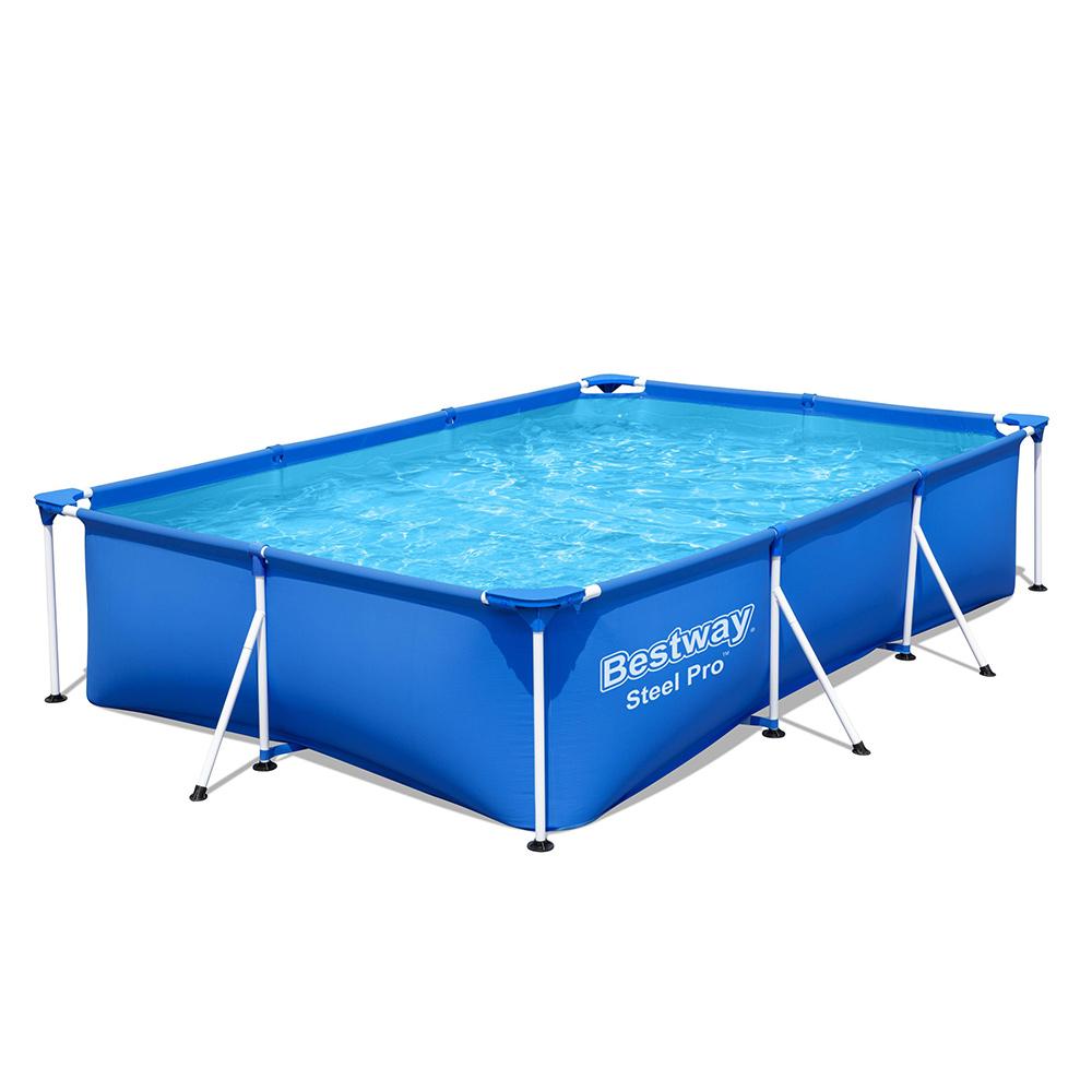 Bovengronds zwembad Bestway 56411 Steel Pro rechthoekig 300x201x66cm