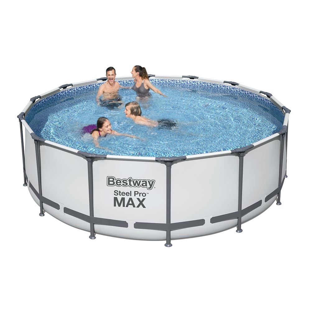 Bovengronds zwembad 5612X Bestway Steel Pro Max rond 427x122cm