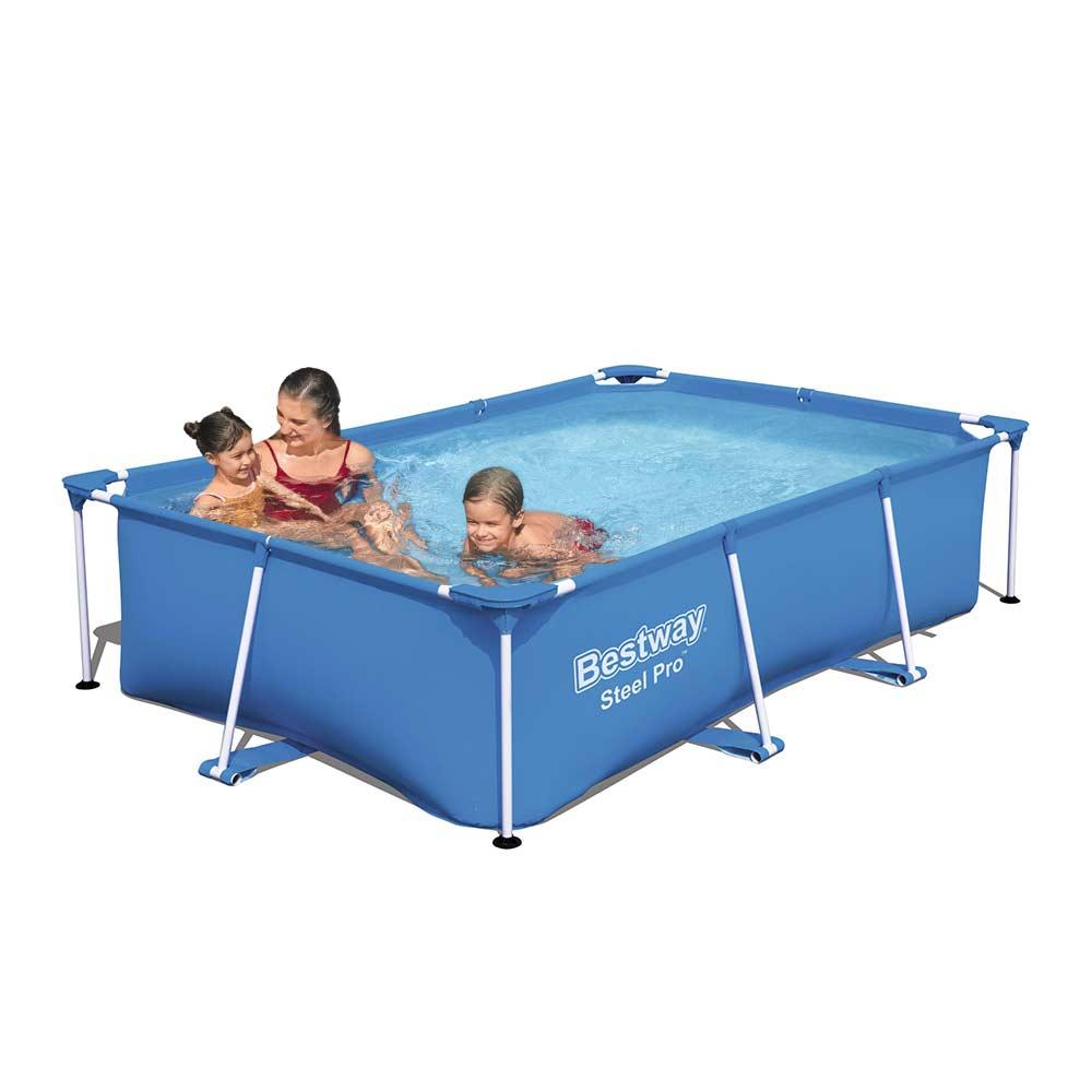 Bovengronds zwembad 56403 Bestway Steel Pro rechthoekig 259x170x61cm