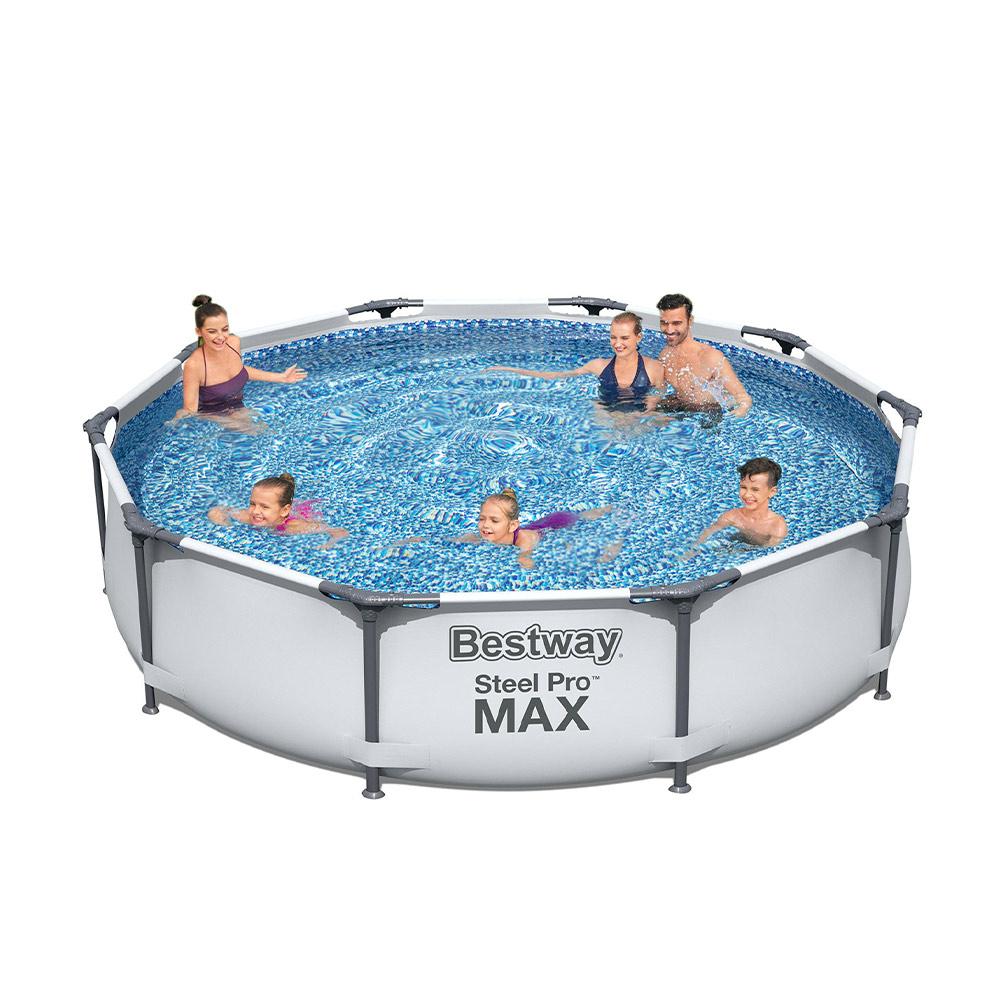 Bovengronds zwembad Bestway Steel Pro Max rond 305x76cm 56406