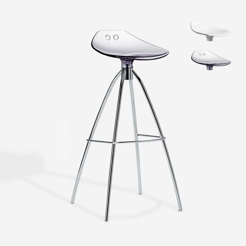 Kruk design stalen poten keuken bar restaurant Scab Frog h80