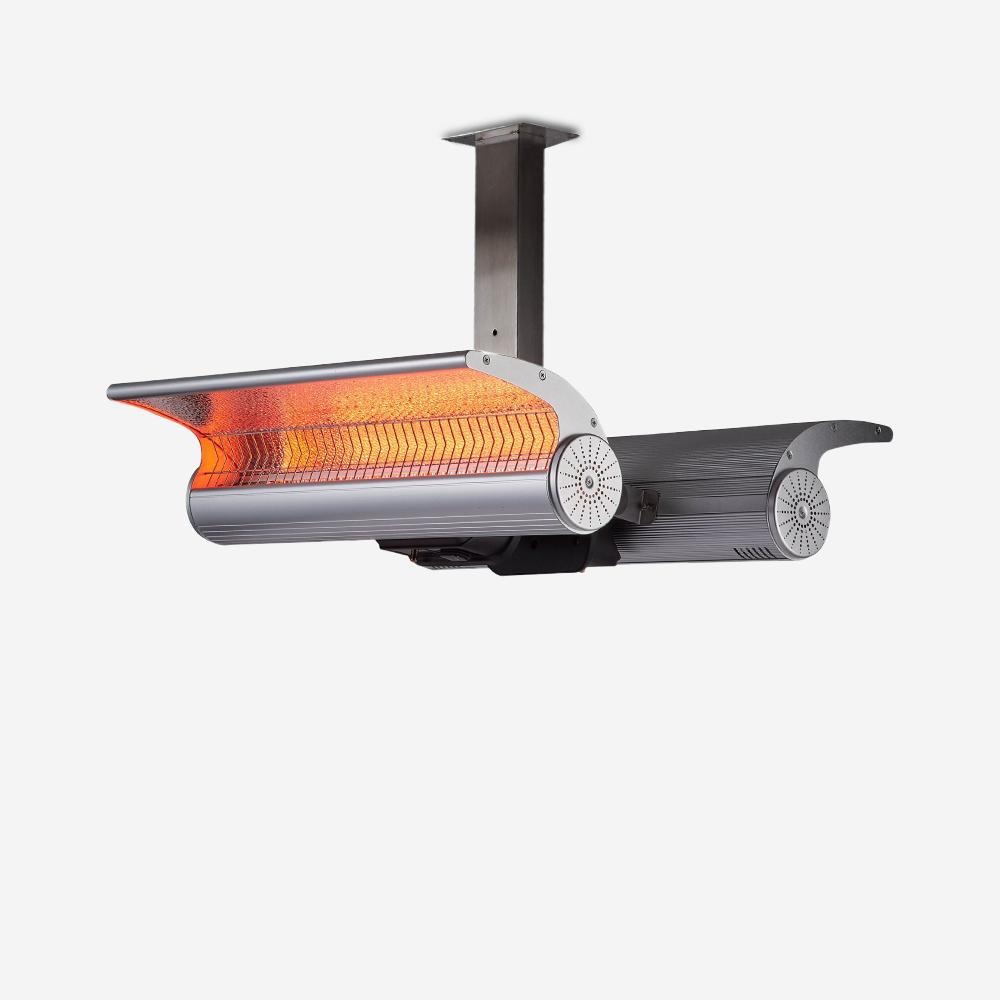 Infraroodstralers met interne externe verwarmingsbeugel Twin Lys