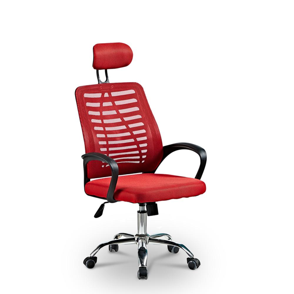 Ergonomische bureaustoel met ademende stof en hoofdsteun Equilibrium Fire