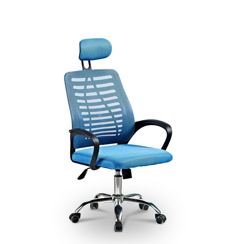 Ergonomische bureaustoel met ademende stof en hoofdsteun Equilibrium Sky