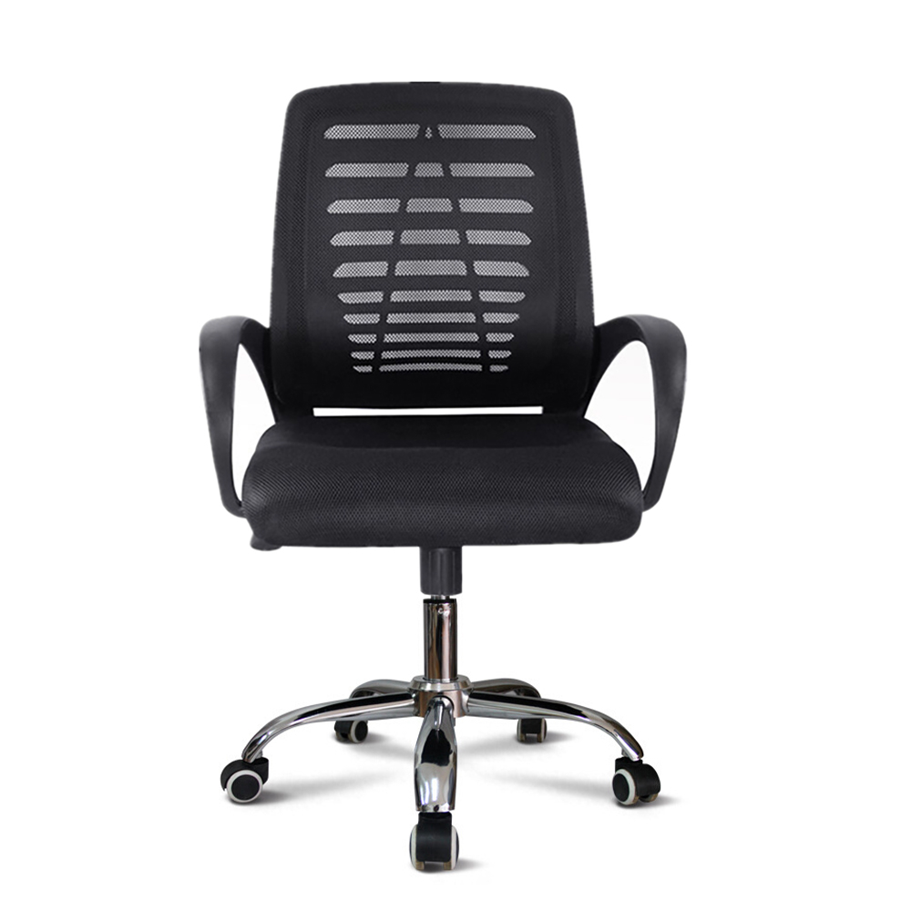 Ergonomische draaibare bureaustoel bekleed met ademende stof Opus