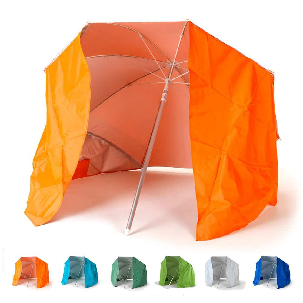 Draagbare parasol zeer lichte aluminium strandtent 200 cm Piuma
